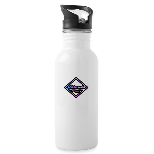 jordan sennior logo - Water Bottle