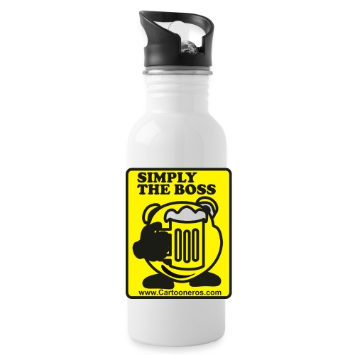 Simply the Boss - Water Bottle