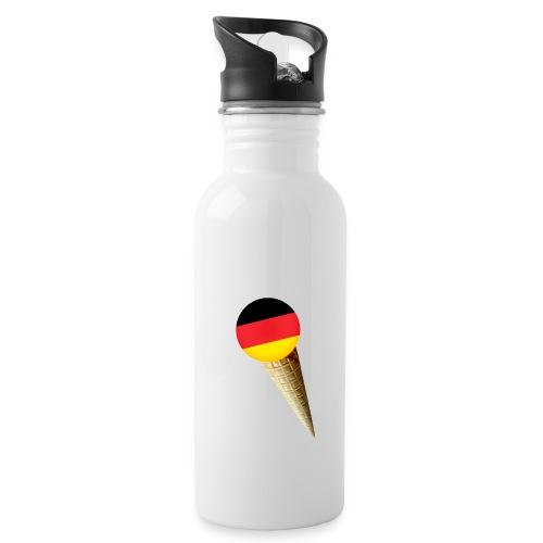 Fußball WM Geschenk Fan Weltmeister Deutschland - Trinkflasche