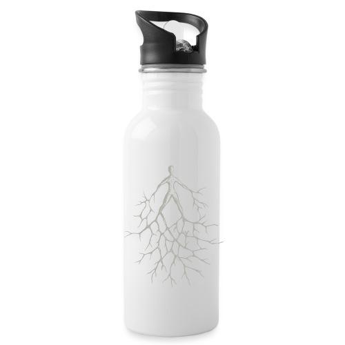 Fest im Leben stehen - Trinkflasche