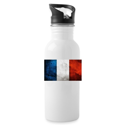 France Flag - Water Bottle