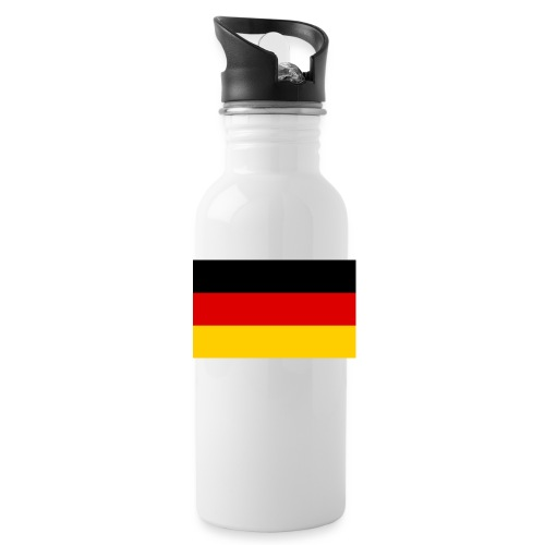 2000px Flag of Germany svg - Trinkflasche