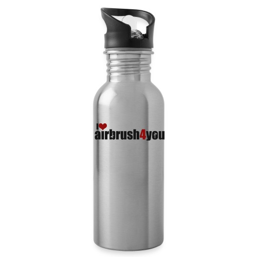 I Love airbrush4you - Trinkflasche
