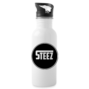 Steez logo white - Drinkfles