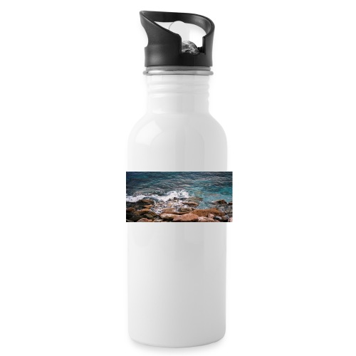 Handy Hülle mit Wellenmotiv - Trinkflasche