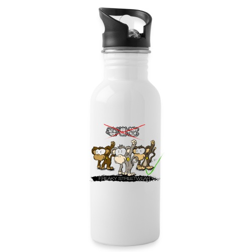 Protest-Äffchen 2 - Trinkflasche