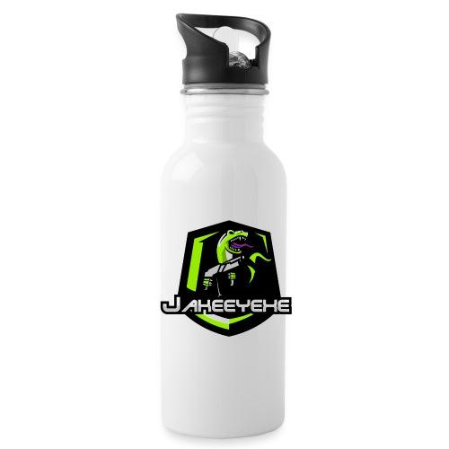 JakeeYeXe Badge - Water bottle with straw