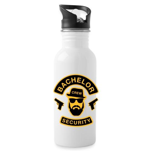 Bachelor Security - JGA T-Shirt - Bräutigam Shirt - Trinkflasche