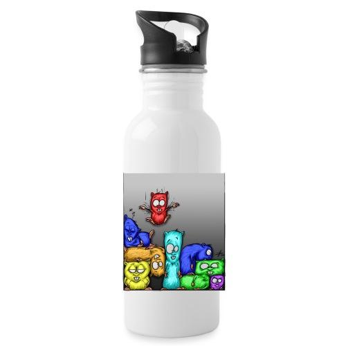 hamstris_farbe - Trinkflasche