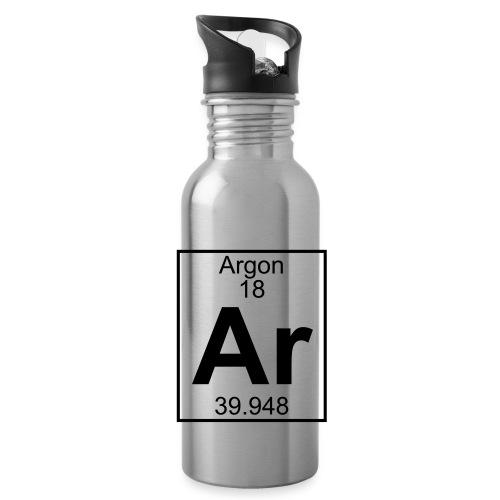 Argon (Ar) (element 18) - Water Bottle