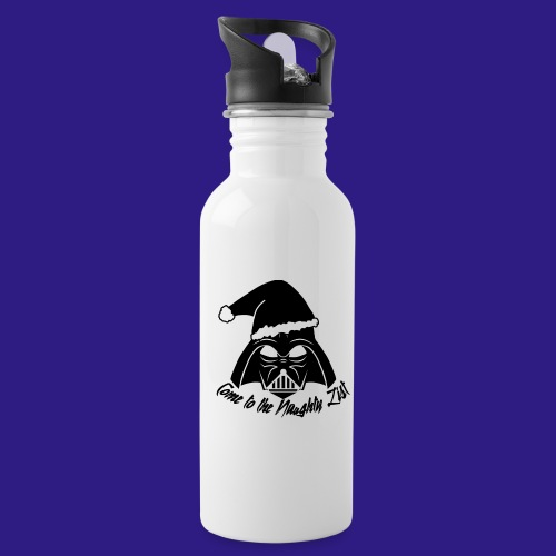 Vader's List - Water bottle with straw