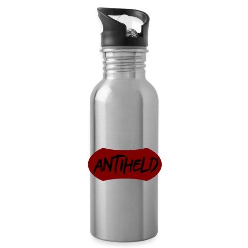 Antiheld Wappen Typografie - Trinkflasche