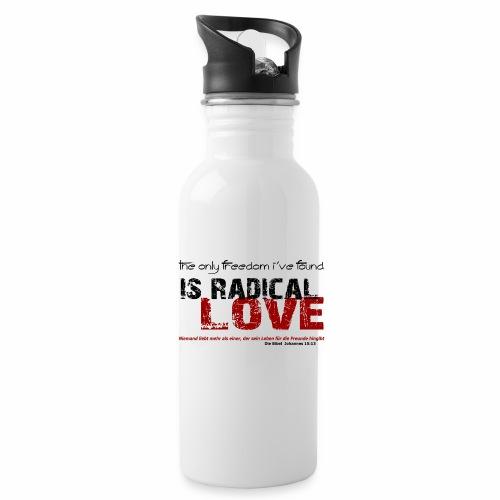 Radikale Liebe black - Trinkflasche