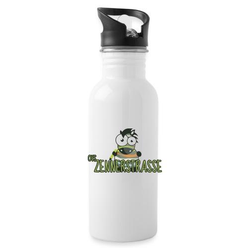 Zebra bunt - Trinkflasche