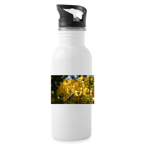 Yellow Lilles - Water Bottle