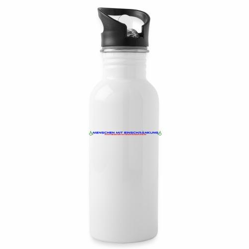 Menschen mit Einschraenkung - Trinkflasche