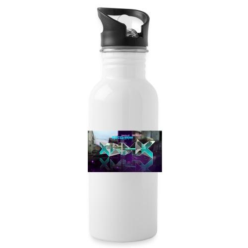 XZWhModzZX - Drikkeflaske med integreret sugerør