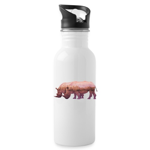 Nashorn Alpen - Trinkflasche