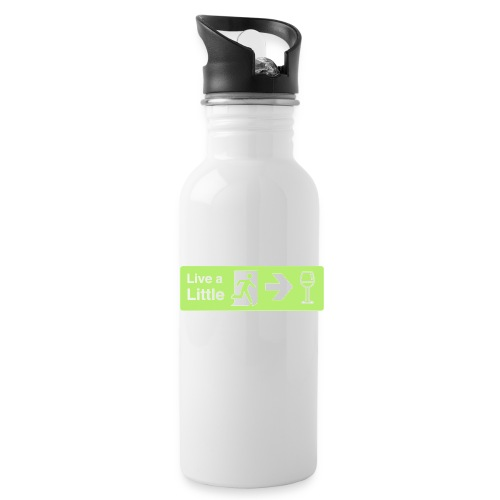 Live a little - Water Bottle