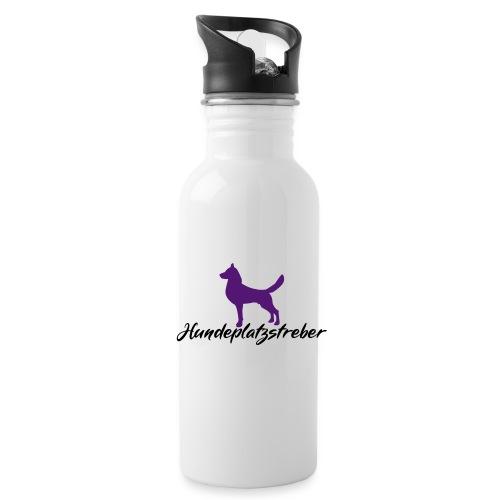 Hundeplatz-Streber / Hundeschule Design Geschenk - Trinkflasche