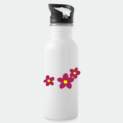 Three Flowers - Water Bottle