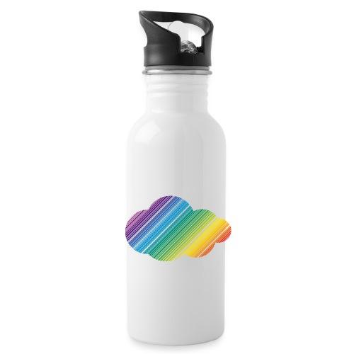 Regnbågsmoln - Vattenflaska