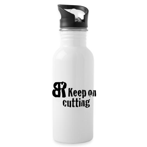 keep on cutting 1 - Trinkflasche
