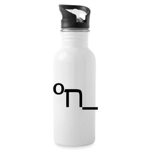 DRUNK - Water bottle with straw