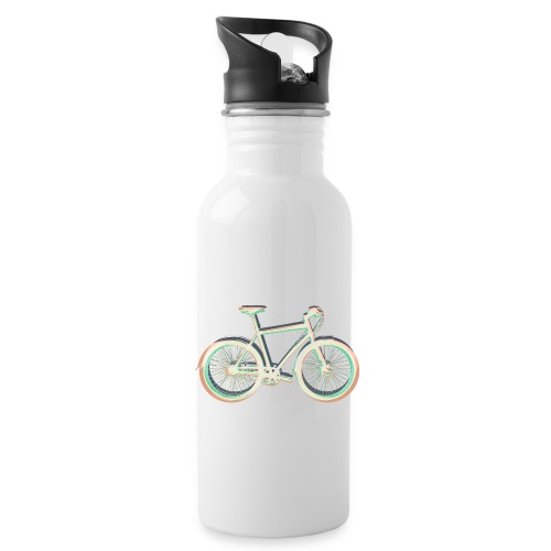 Fahrrad Bike Outdoor Fun Radsport Radtour Freiheit - Water Bottle