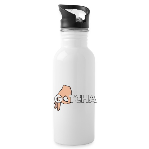 Gotcha Made You Look Funny Finger Circle Hand Game - Water Bottle