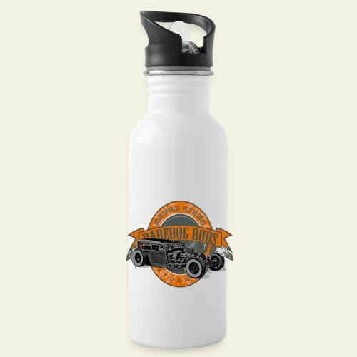 Raredog Rods Logo - Drikkeflaske med integreret sugerør