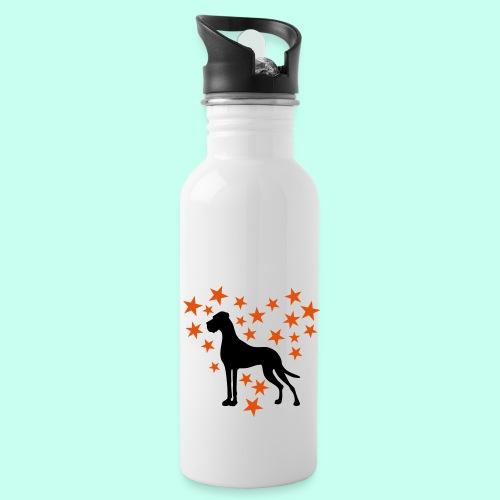 Sternenherz_Dogge - Trinkflasche