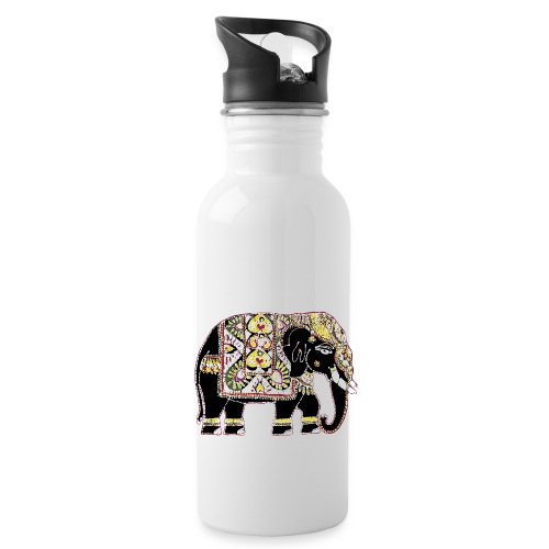 Indian elephant for luck - Water Bottle