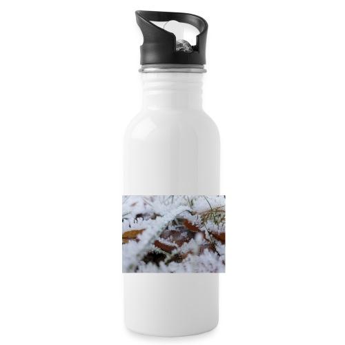 Schneekristalle - Trinkflasche