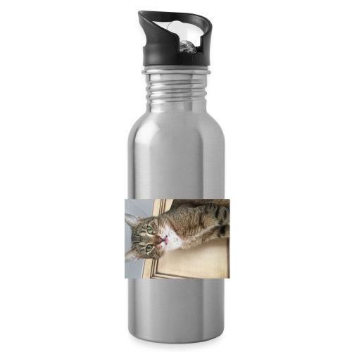 Kotek - Bidon z wbudowaną słomką