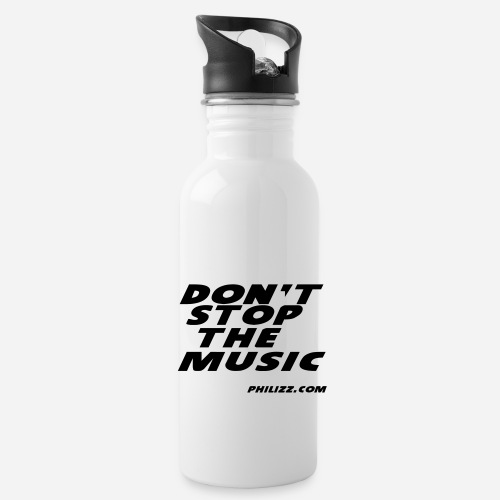 dontstopthemusic - Water Bottle