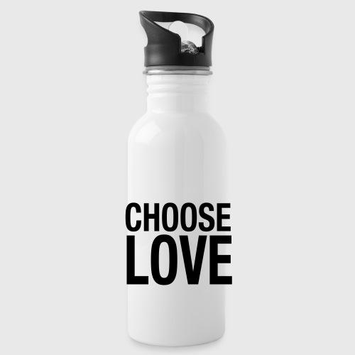 CHOOSE LOVE - Trinkflasche
