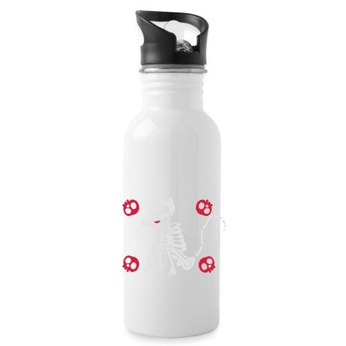 Katzen Skelett - Trinkflasche