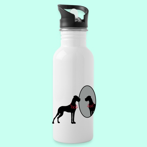 This Dog is God - Trinkflasche