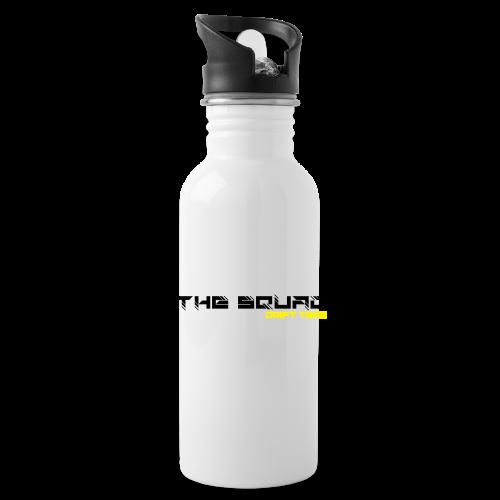 The Squad Logo Sort - Drikkeflaske