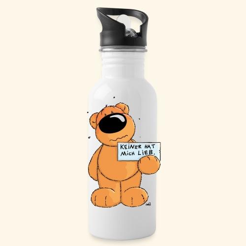 chris bears Keiner hat mich lieb - Trinkflasche