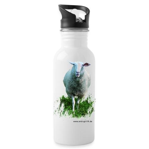 Gemaltes Entrup Schaf - Trinkflasche