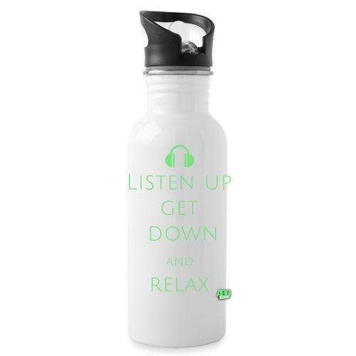 listenuptxt logo png - Water Bottle
