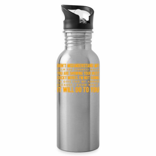 confidence - Drikkeflaske