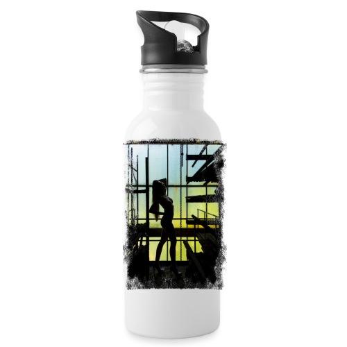 Abandoned Silhoutte (Grunge) - Trinkflasche