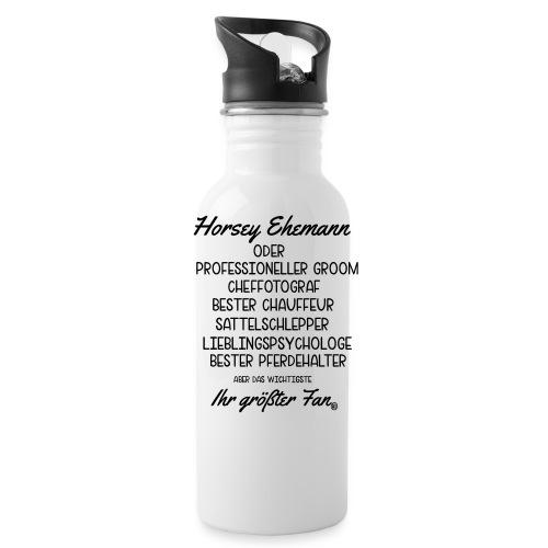 Horsey Ehemann - Turniertrottel - Trinkflasche
