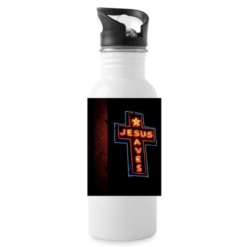 Jesus Saves - Water Bottle
