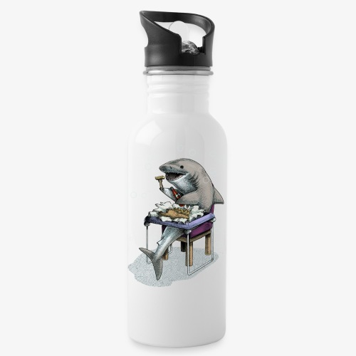 Shark's Fish and Chip dinner - Water Bottle