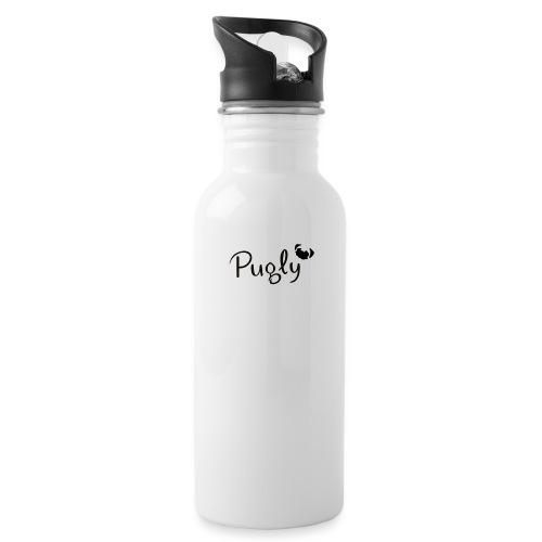Pugly Logo - Vattenflaska