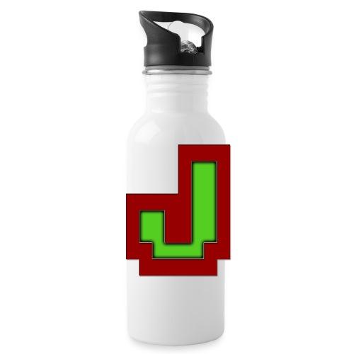 Stilrent_J - Drikkeflaske med integreret sugerør